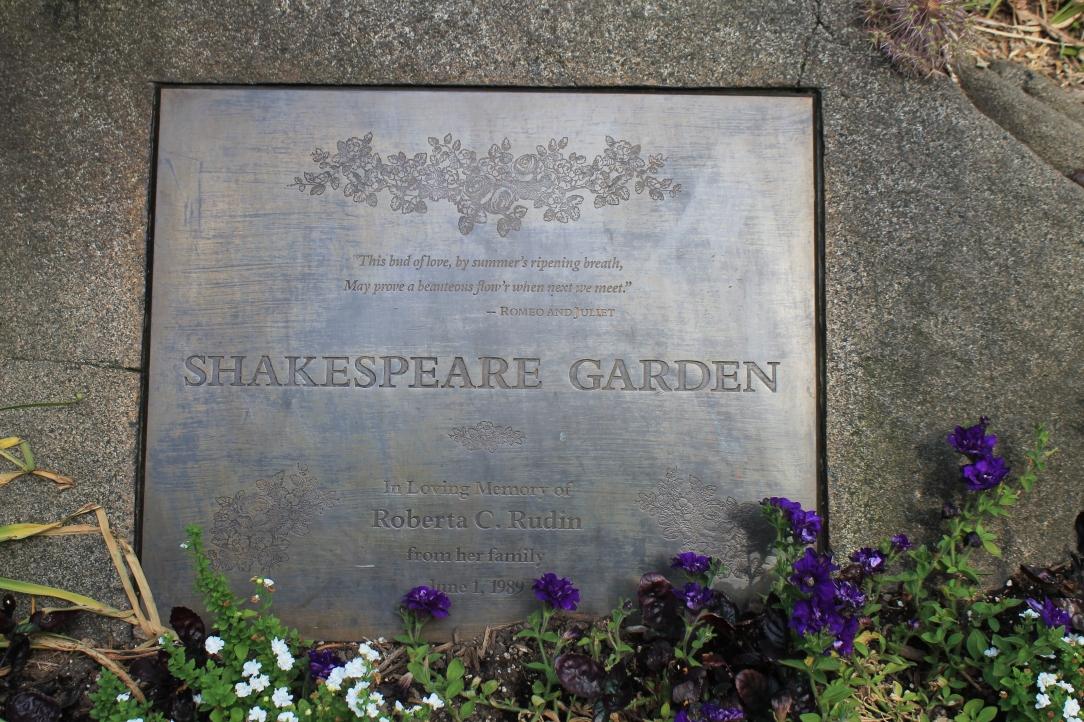 central park new york city iwannabealady.com shakepeare garden