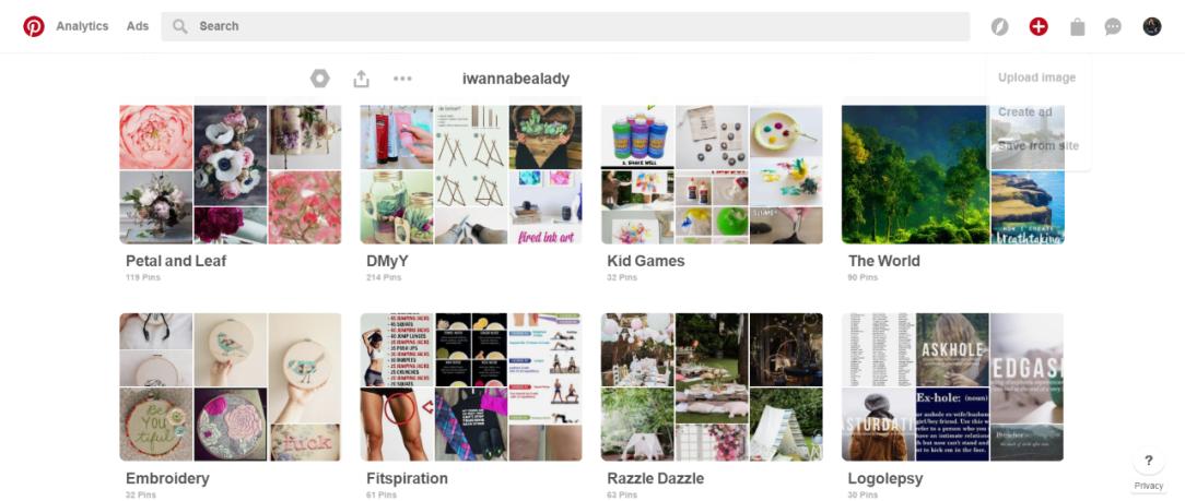 Pinterest Boards 2
