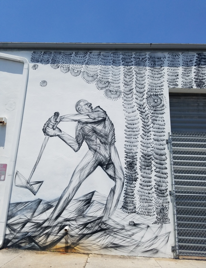 FAT Village Arts District artwalk Fort Lauderdale street art