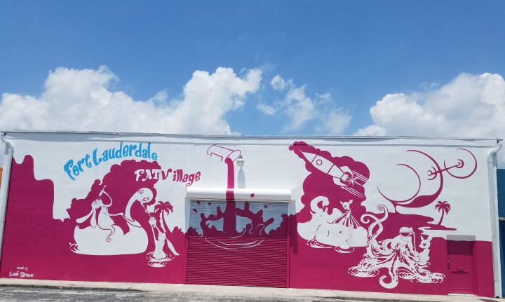 FAT Village Arts District artwalk Fort Lauderdale