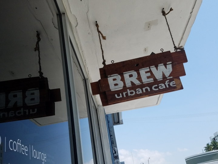 Brew Urban Cafe FAT Village Fort Lauderdale Fl