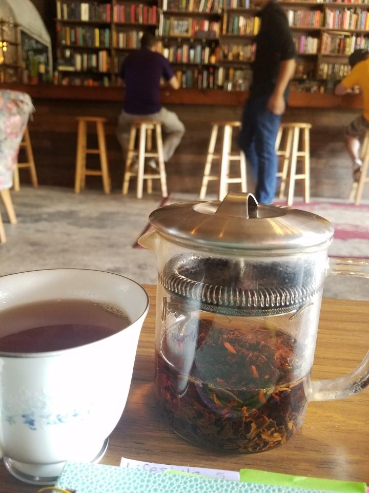 Brew Urban Cafe FAT Village Fort Lauderdale drinking tea coffee shop