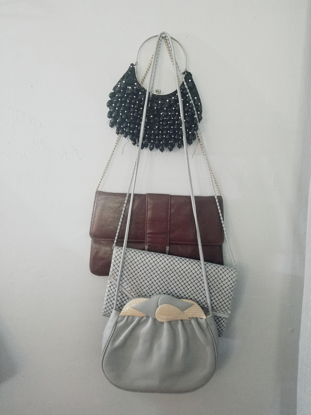 Collection of vintage handbags