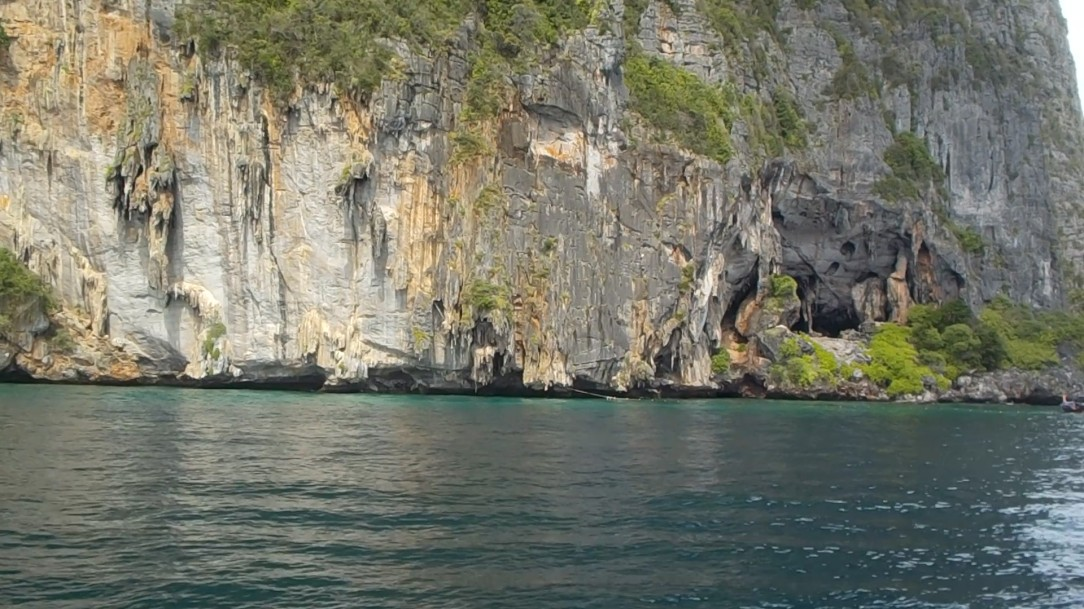 Maya Bay Pirate Cave
