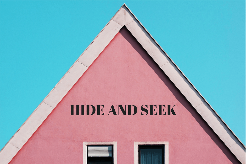 Hide and Seek by iwannabealady.com For parents who fear playdates happening at their house. Suburban distopia