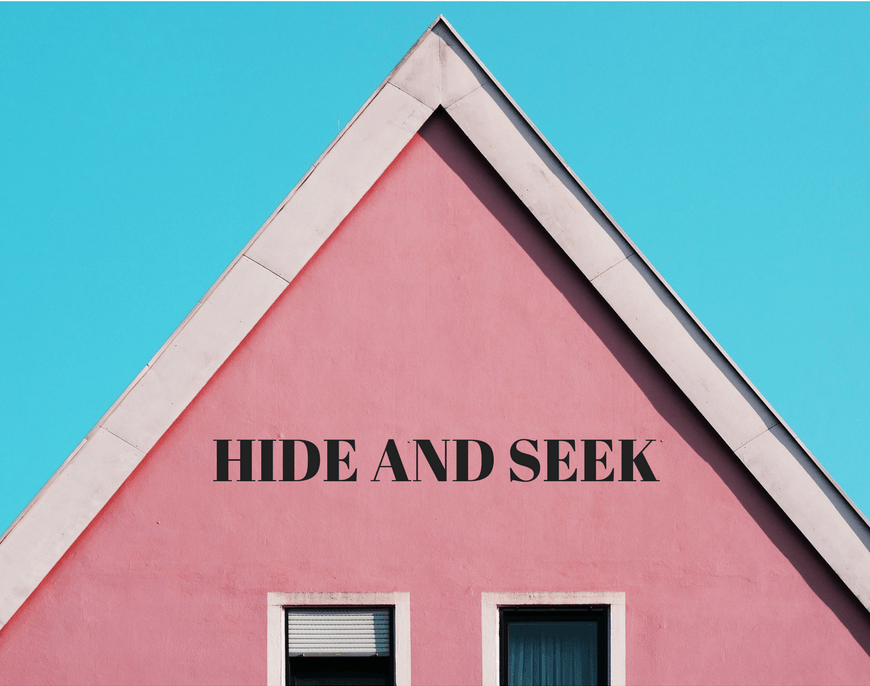 Hide and Seek by iwannabealady.com For parents who fear playdates happening at their house. Suburban distopia modern day fables