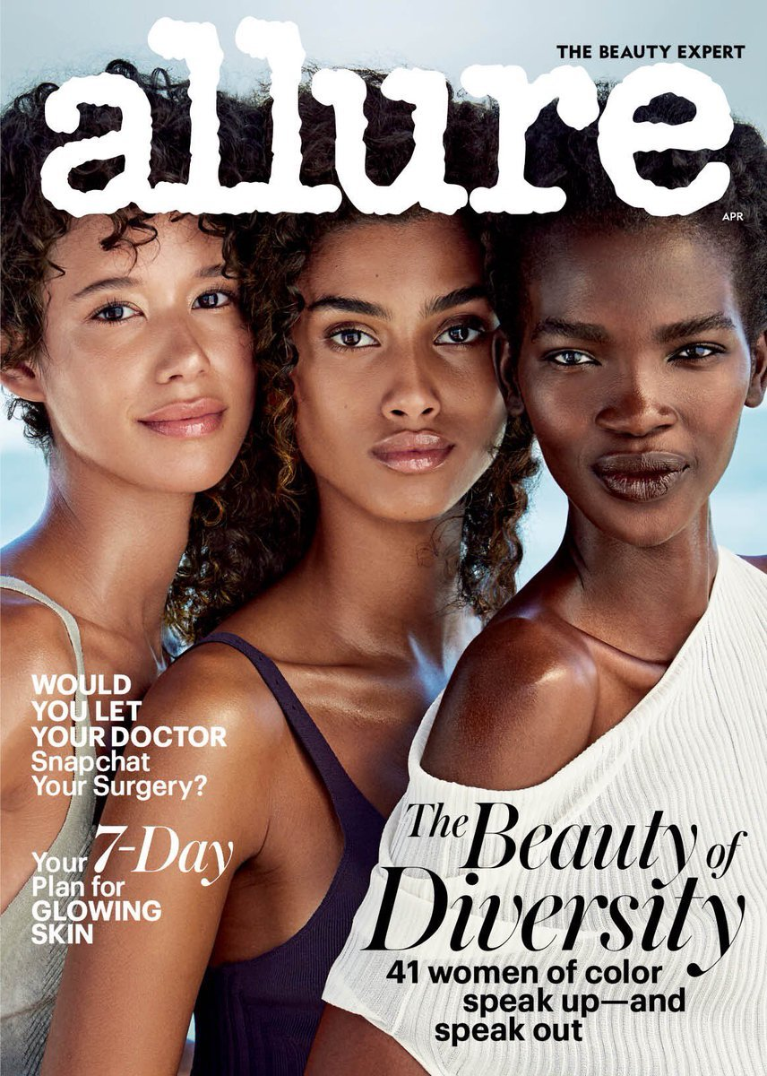 allure magazine the beauty of diversity how fashion magazines are changing iwannabealady.com