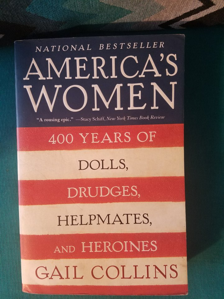 iwannabealady.com book lovers collection choosing a new book lifestyle blogger Americas Women Gail Collins