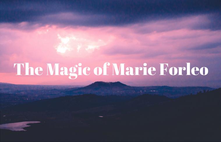 Marie Forleo acclaimed life coach iwannabealady.com