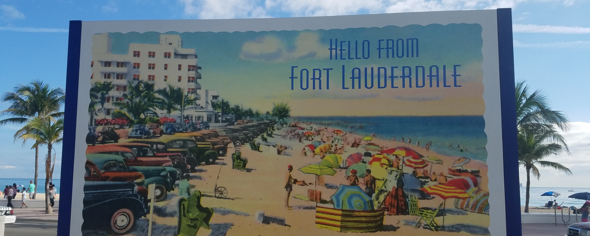 iwannabealady.com hello from Fort Lauderdale Beach