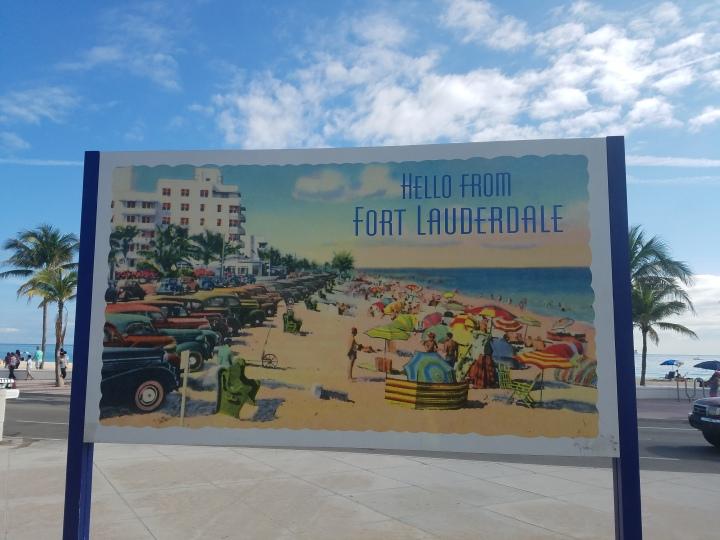 iwannabealady.com hello from Fort Lauderdale Beach
