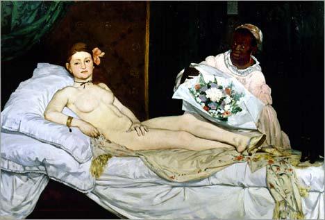 Olympia Edouard Manet iwannabealady.com women boudoir photography tips