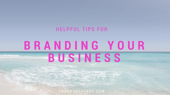 Branding tips iwannabealady.com