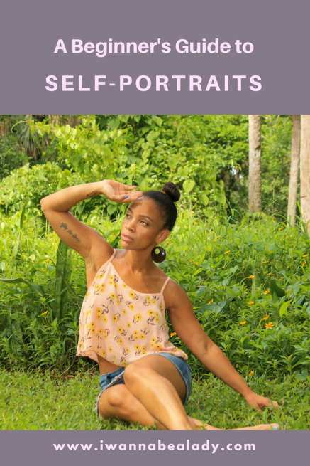 Self-Portrait Guide for Beginners iwannabealady.com